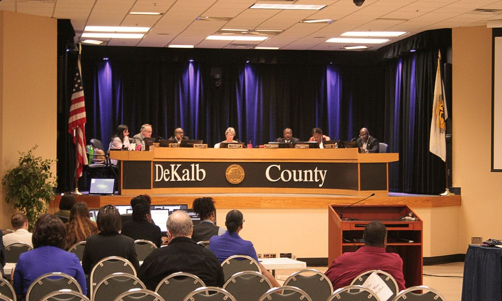 DeKalb County Board of Commissioners Meeting
